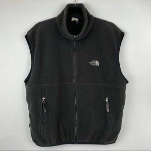 The North Face Men's Polartec Black Fleece Vest